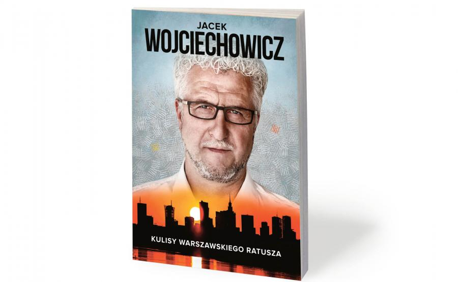 Książka Jacka Wojciechowicza, zdjęcie okładki wykonał Maksymilian Rigamonti