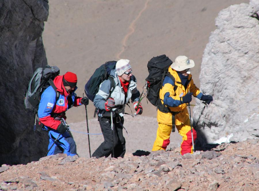 Niewidomy informatyk idzie na Spitsbergen