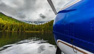 Alaska, samolot