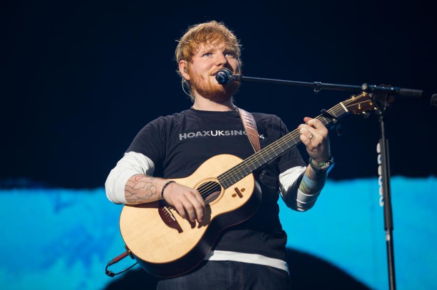 Ed Sheeran - koncert w Waszawie, 11 sierpnia 2018 fot. Charm Music/ mat. promocyjne