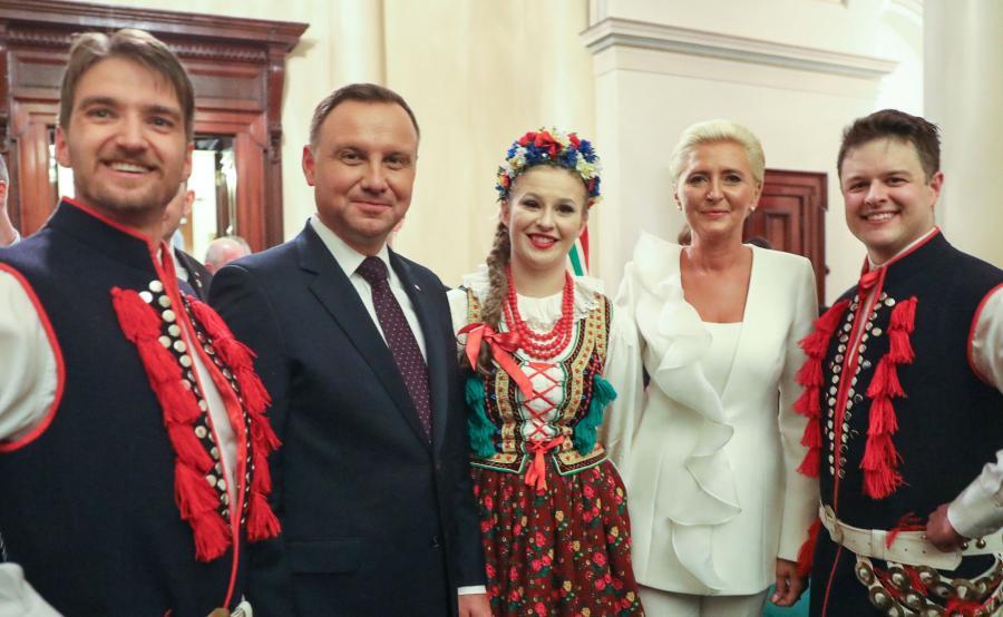 Spotkanie Dudy z australijską Polonią