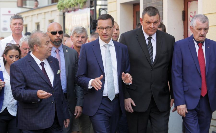 Mateusz Morawiecki i Jerzy Wilk