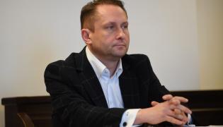 Kamil Durczok na sali rozpraw