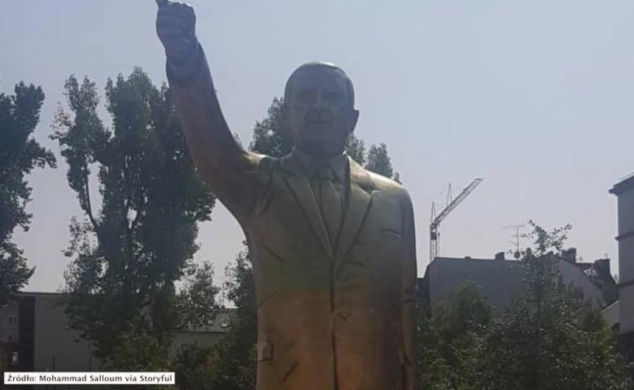 Pomnik Erdogana