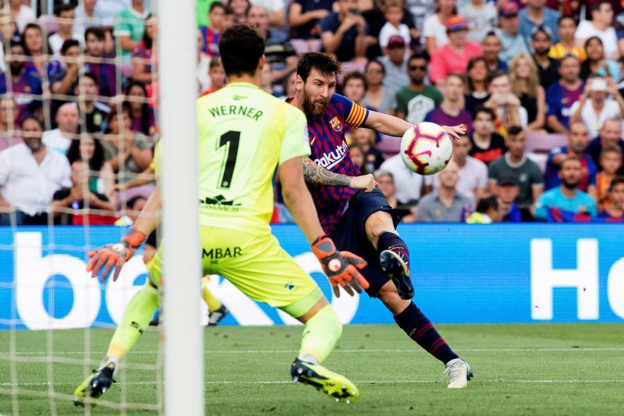Lionel Messi i Axel Werner