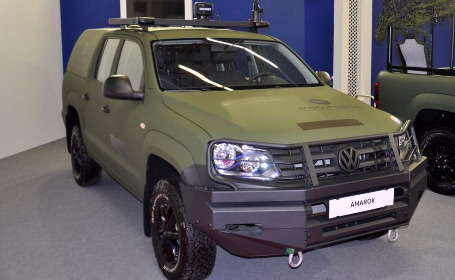 Wojskowy Volkswagen Amarok