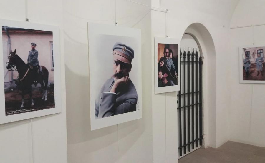 Wystawa poświęcona Marszałkowi