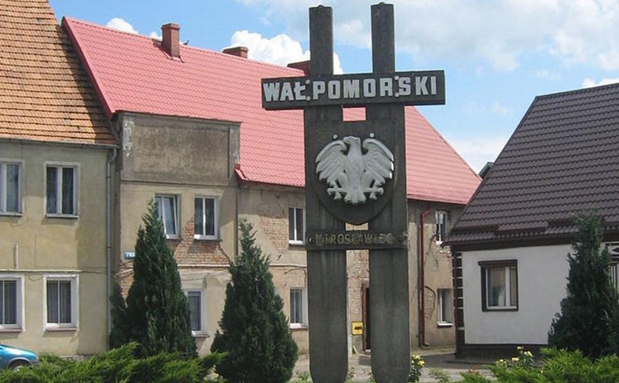 Mirosławiec, Wał Pomorski, pomnik/fot.Radosław Drożdżewski (Zwiadowca21)