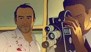 """Kadr z filmu """"Jescze dzień życia"""""""