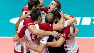 Radość Polaków podczas meczu półfinałowego mistrzostw świata siatkarzy z USA