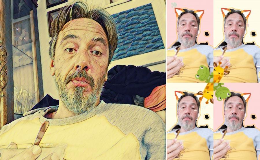 Selfie - efekty a'la Snapchat