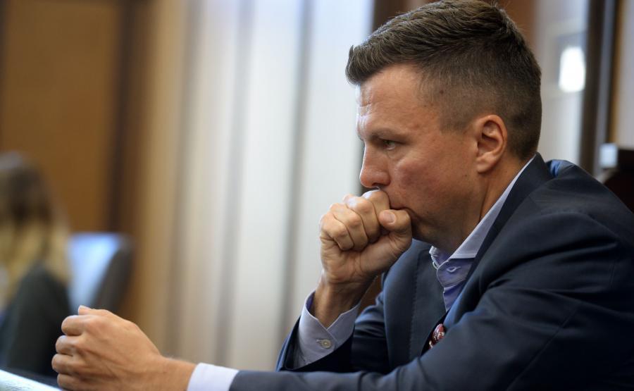 Marek Falenta w trakcie procesu ws. afery taśmowej