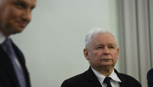 Prezydent Andrzej Duda i prezes PiS Jarosław Kaczyński
