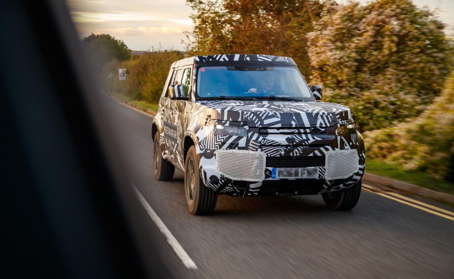 Land Rover Defender nowej generacji w trakcie testów