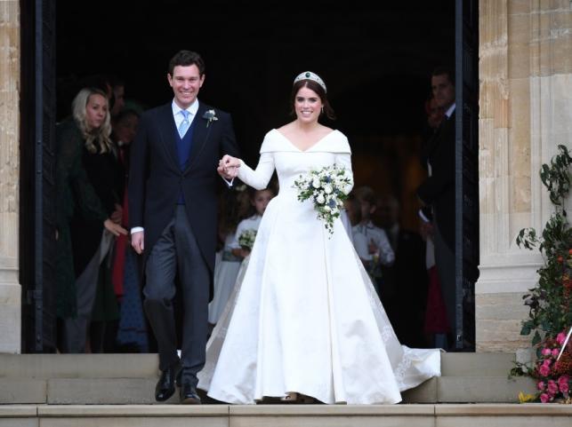 Księżniczka Eugenia i Jack Brooksbank