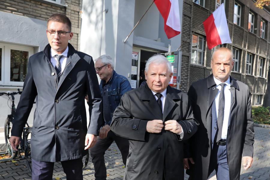 Wybory samorządowe 2018. Jarosław Kaczyński