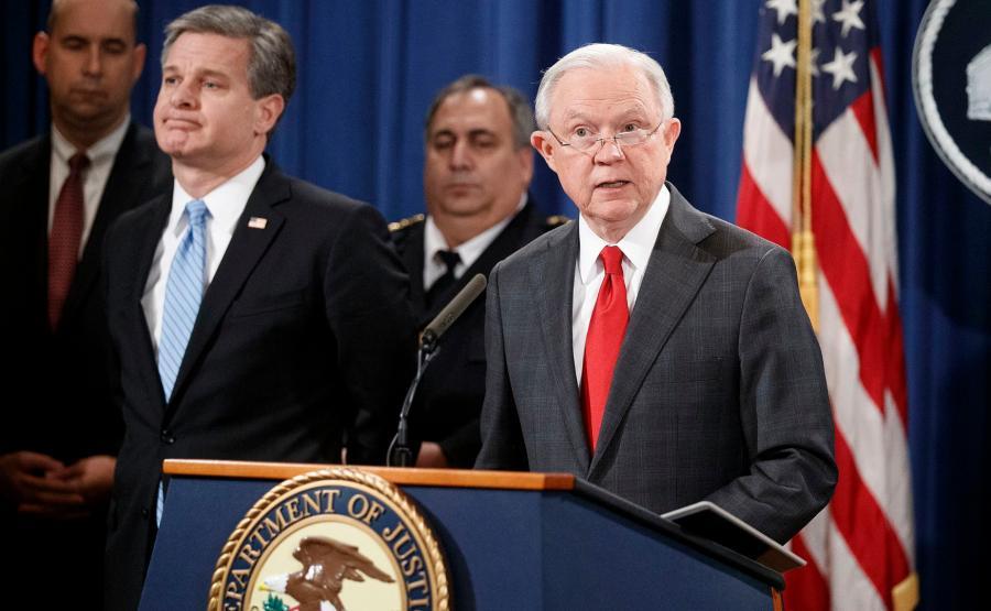 prokurator generalny USA, Jeff Sessions