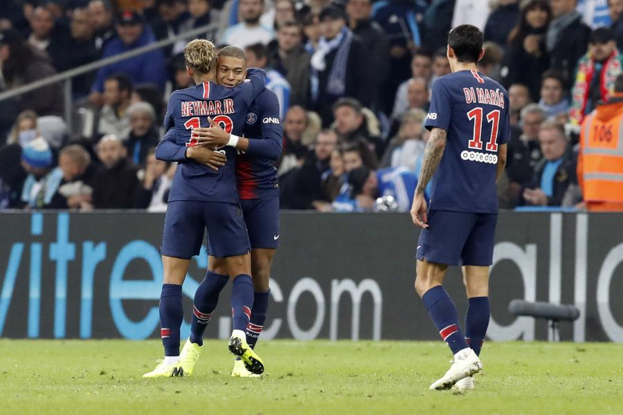 Kylian Mbappe, Neymar i Angel Di Maria