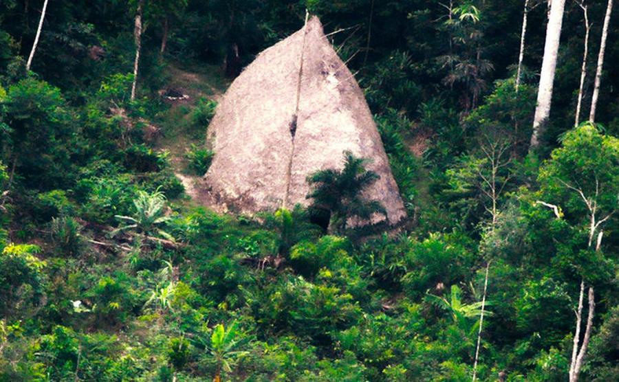Nieznane plemie odkryte w amazońskiej dżungli
