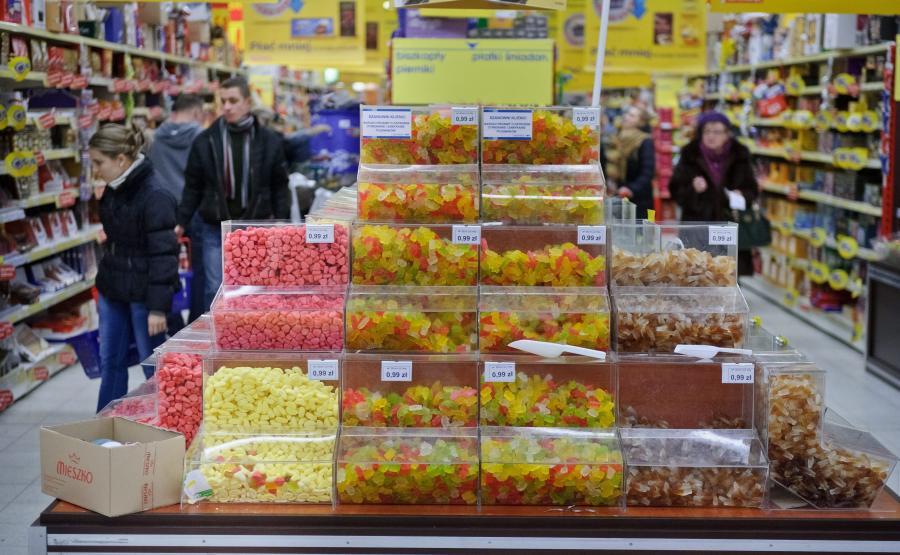 Stoisko ze słodyczami
