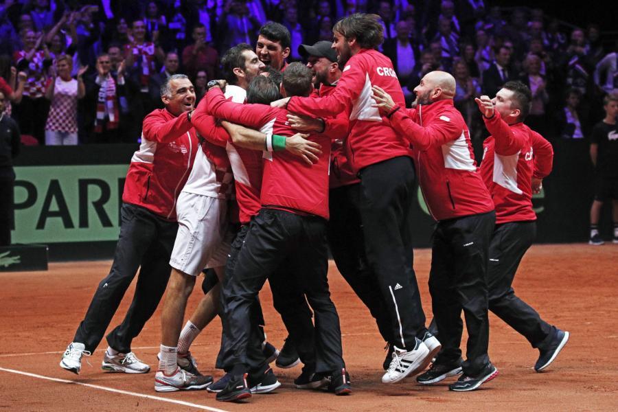 Chorwaci wygrali Puchar Davisa