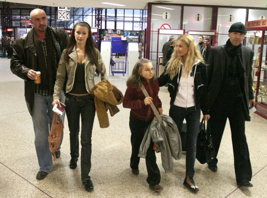 Saleta leci do Egiptu z całą rodziną