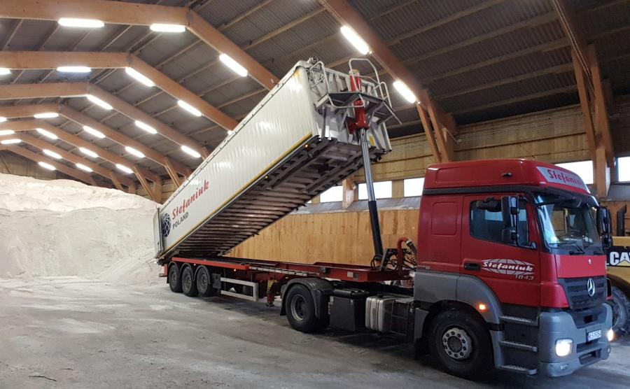 286 magazynów soli może pomieścić ok. 430 tys. ton