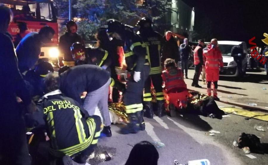 akcja ratunkowa Włochy
