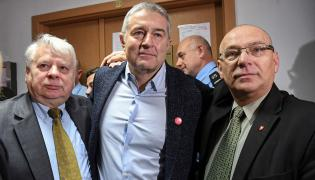 Władysław Frasyniuk, Jerzy Borowczak, Bogdan Borusewicz