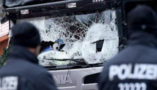 Miejsce zamachu w Berlinie