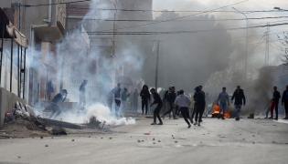 Protesty w Tunezji