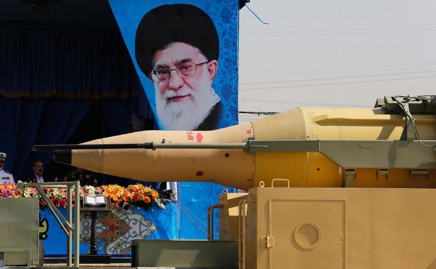 Irańskie pociski dalekiego zasięgu