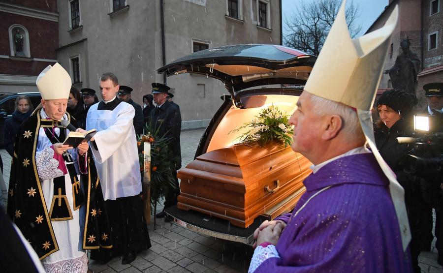 Krakowskie uroczystości pogrzebowe