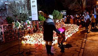 Miejsce tragedii w Koszalinie