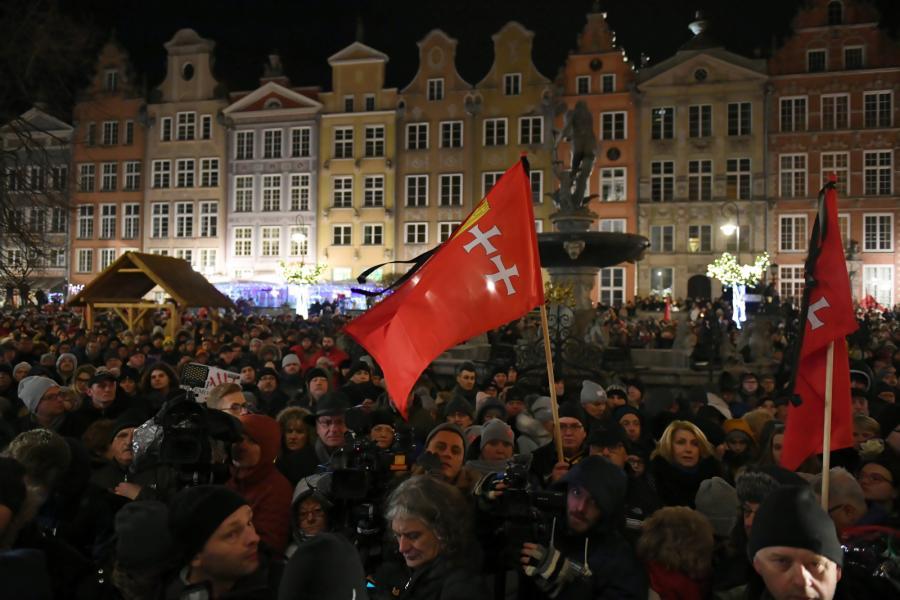 Wiec w Gdańsku