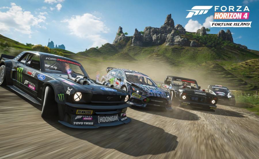 Forza Horizon 4 Fortune Island