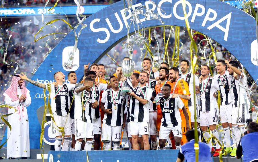 Radość piłkarzy Juventusu