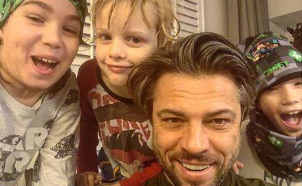 Olivier Janiak z synami