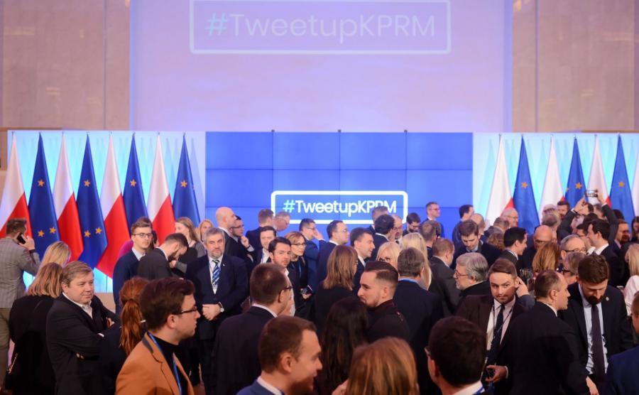 Tweetup w KPRM
