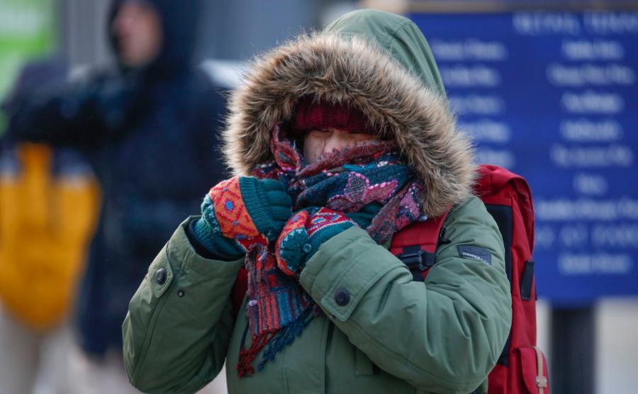 Potrzebna była gruba, zimowa odzież