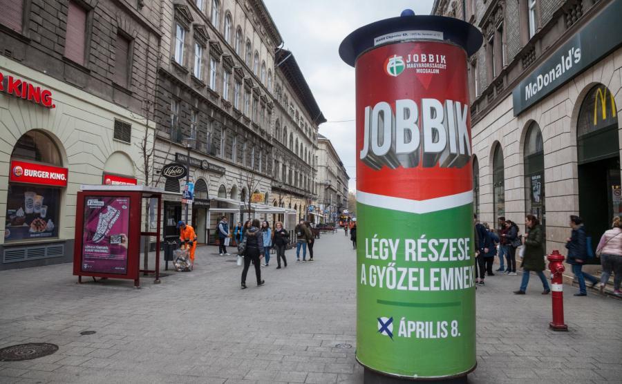 Plakat wyborczy Jobbik