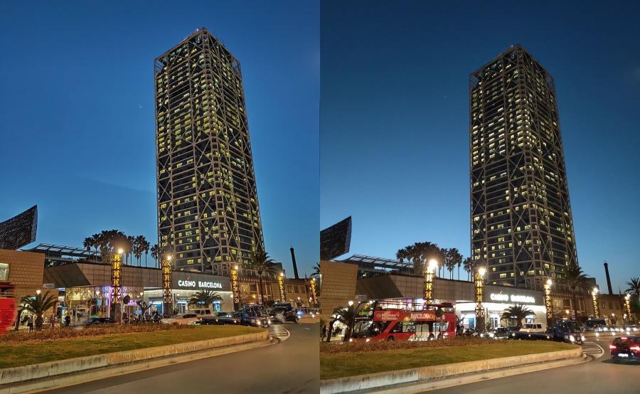 Zdjęcie wykonane telefonem Oppo RX17 Pro - tryb nocny