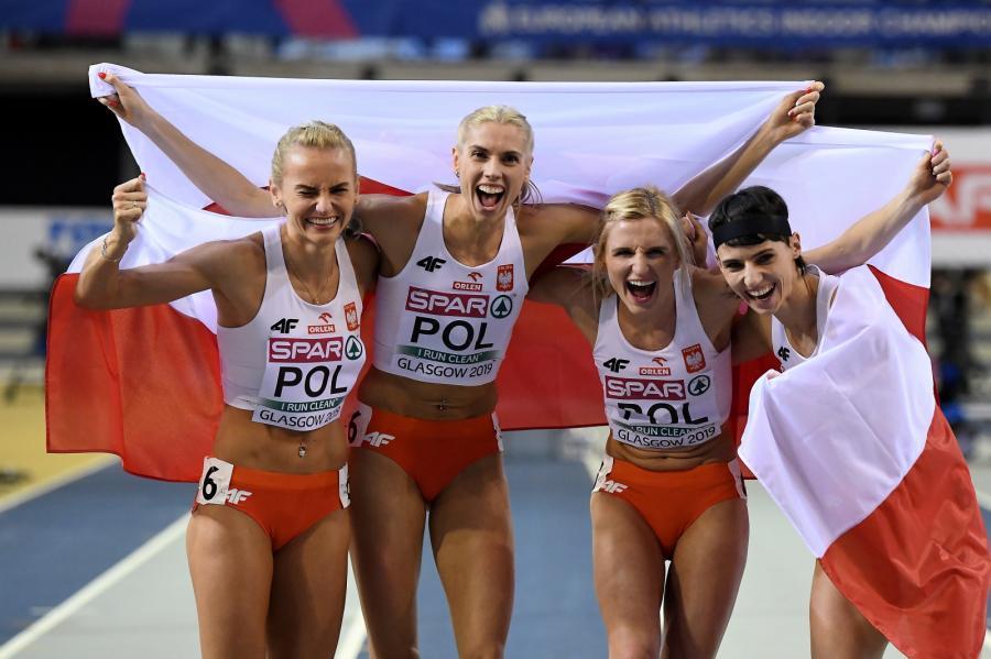Polki (od lewej): Justyna Święty-Ersetic, Iga Baumgart-Witan, Małgorzata Hołub-Kowalik i Anna Kiełbasinska