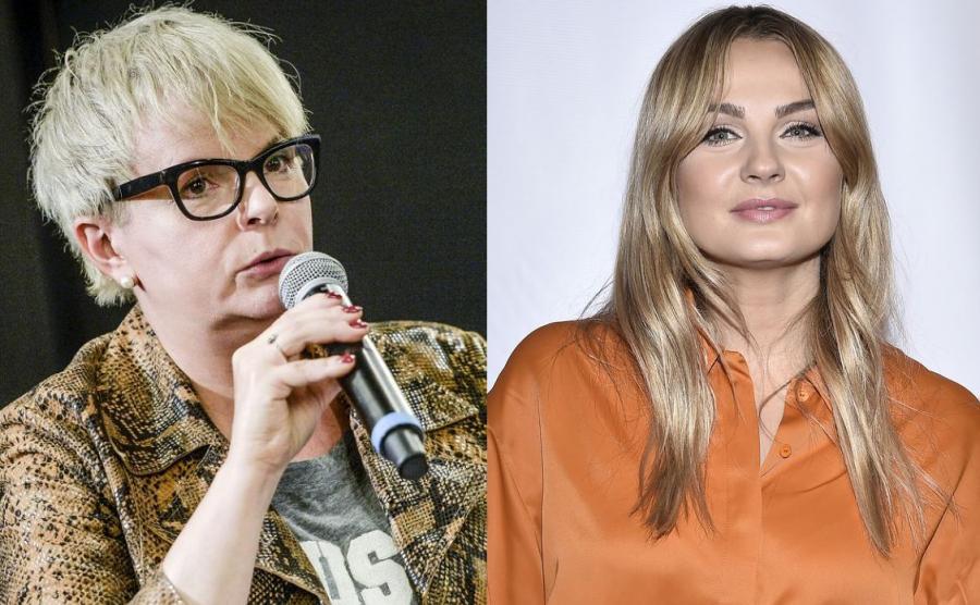 Krolina Korwin Piotrowska, Małgorzata Socha