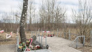 Miejsce katastrofy samolotu Tu-154M w Smoleńsku