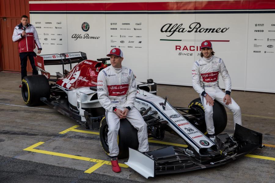 Sauber: Antonio Giovinazzi, Kimi Raikkonen