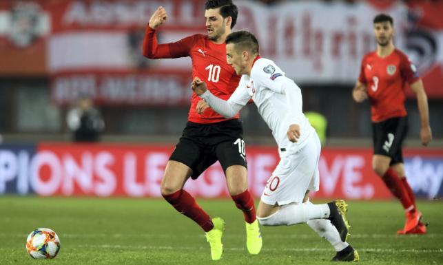 Mecz Austria-Polska nie był pięknym widowiskiem. Tak wyglądała bitwa o Wiedeń [FOTO]