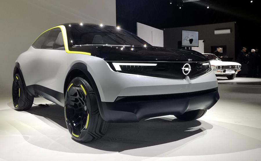 Opel GT X Experimental i Opel Manta