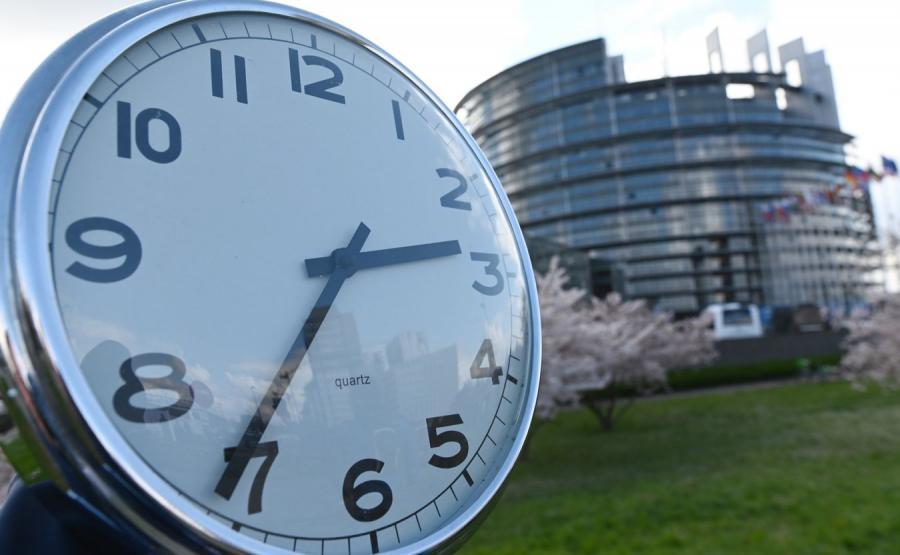 Zegar i Parlament Europejski