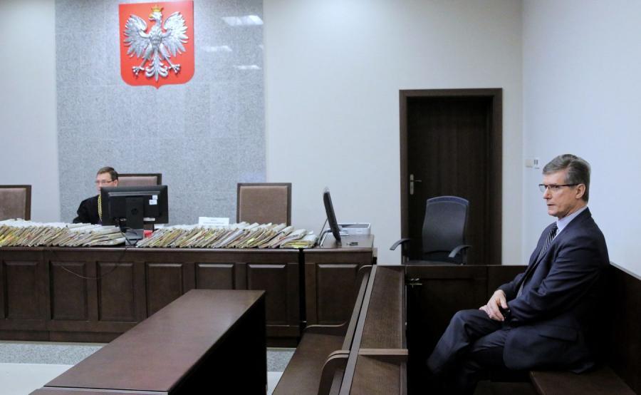 Czesław Małkowski na sali rozpraw